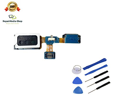 für Samsung Galaxy S4 Mini Hörmuschel Proximity Annäherungsensor + Earpiece Hörer Kapsel Lautsprecher + Werkzeugset
