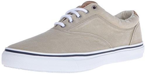 Sperry Herren STRIPER LACELESS Sneaker, Elfenbein (CHINO), 42 EU
