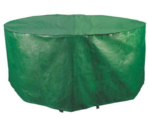 Bosmere Weatherproof Round Patio Set Cover, 74', Green