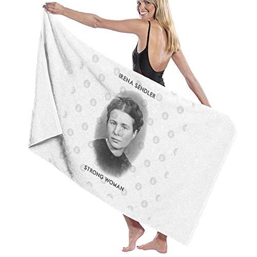 N+A Irena Sendler - Toalla de baño para mujer fuerte de secado rápido