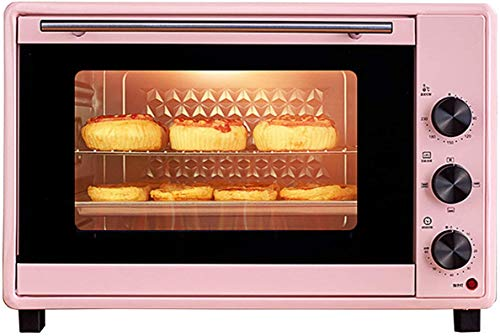 Mini Ovens 1600W, 40L Toaster Electric Roasters Convection Ovens, With Temperature Setting 90-230℃ And 60 Mins Timer, 10 Cooking Modes