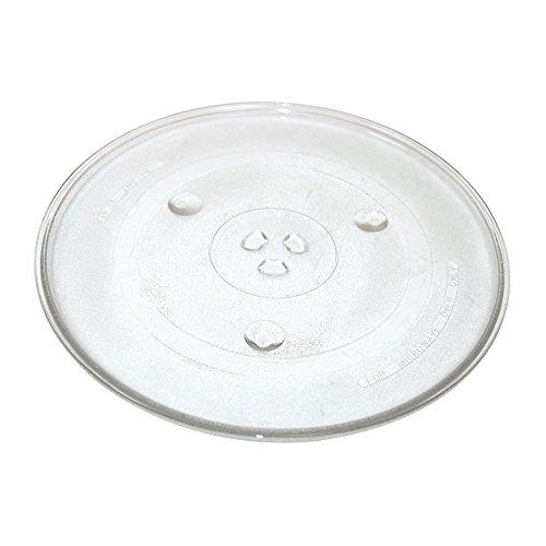 Find A Spare Placa de cristal giratoria para microondas de 270 mm con 6 fijadores para hornos de microondas AEG LG, Bosch Daewoo