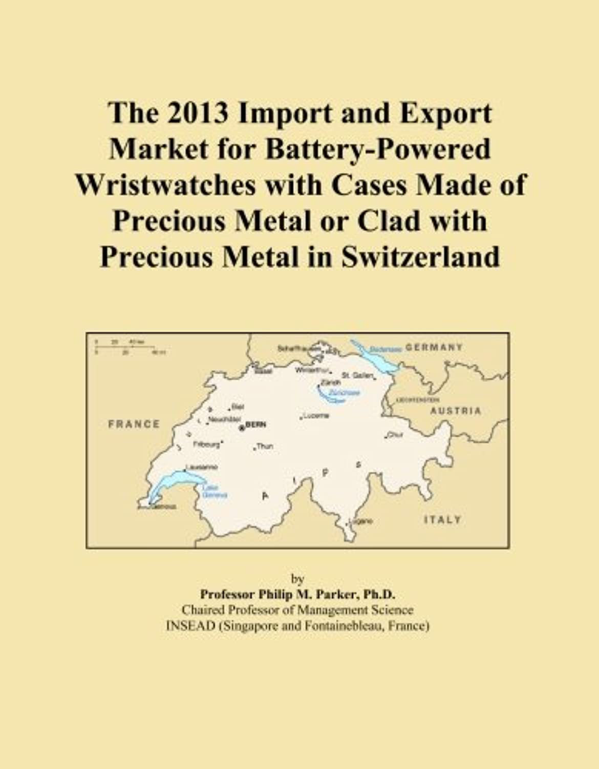The 2013 Import and Export Market for Battery-Powered Wristwatches with Cases Made of Precious Metal or Clad with Precious Metal in Switzerland