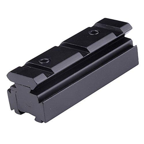 FIRE WOLF Sight Converter Adapter10mm / 11mm a 20mm Weaver Rail para láser Rifle Scope Mount Base Adapter