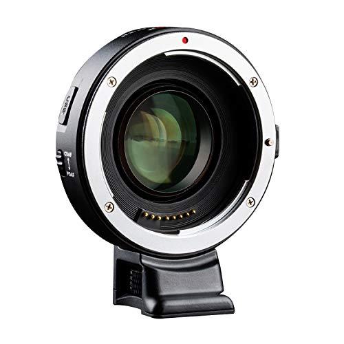 VILTROX EF-E II Auto Focus 0.71x Focal Reducer Speed Booster Lens Adattatore con CDAF/PDAF Interruttore per Canon EF Lens a Sony E-Mount fotocamera A9 A7RIII A7RII A7III A6500 A6300 A6400 A7SII A7R