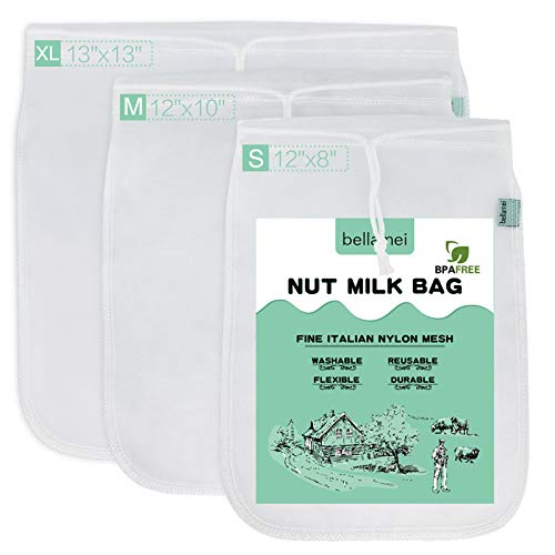 Nut Milk Bag - Reusable