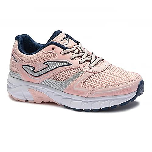 JOMA Vitaly Jr 2113, Zapatillas de Running para Niña, Rosa/Marino, EU 34