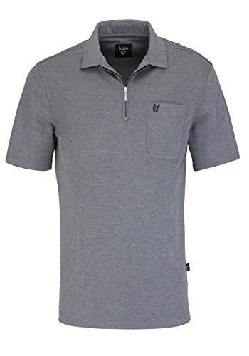 hajo Herren H RV Softknit Poloshirt, Grey (Silbermelange 106), X-Large (Herstellergröße: 54)