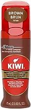 KIWI Color Shine Liquid Polish Brown 2.5 FL. OZ.