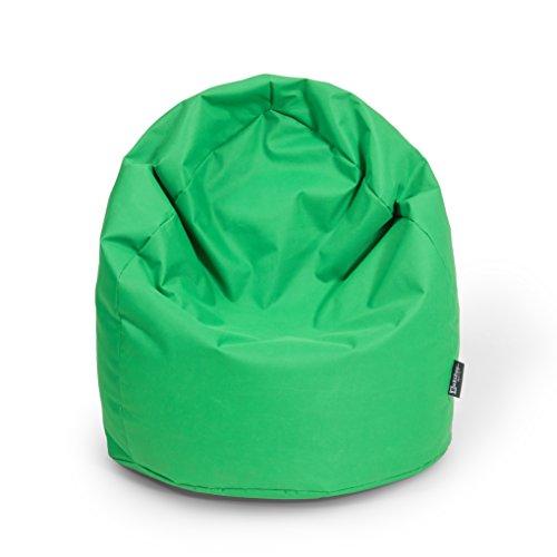 BuBiBag Sitzsack XL mit Füllung Sitzkissen Bodenkissen Kissen Sessel BeanBag (apfelgrün)