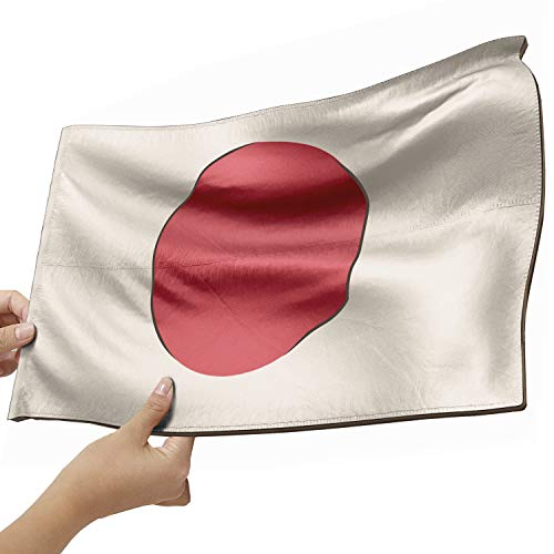 Japan Flagge als Lampe aus Holz - schenke deine individuelle Japan Fahne - kreativer Dekoartikel aus Echtholz