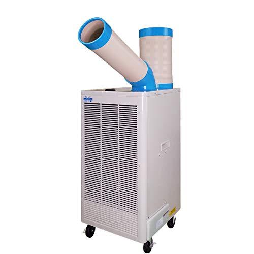 Nakatomi X Uninex Indoor Outdoor KoolZone Mobile Spot Cooler N407-TC Portable Air Conditioner Industrial Grade 8,920BTU 9.22CER R410A Refrigerant