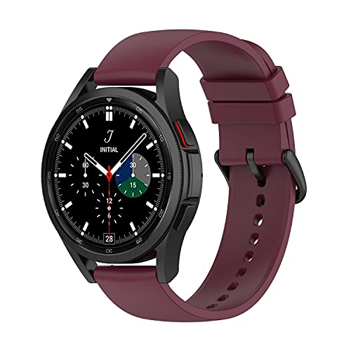 Diruite Correa compatible con Samsung Galaxy Watch 4 40mm/44 mm and Galaxy Watch 4 Classic 42mm/46mm Correa,Transpirable Repuesto Silicona Suave Pulsera para Samsung Galaxy Watch 4