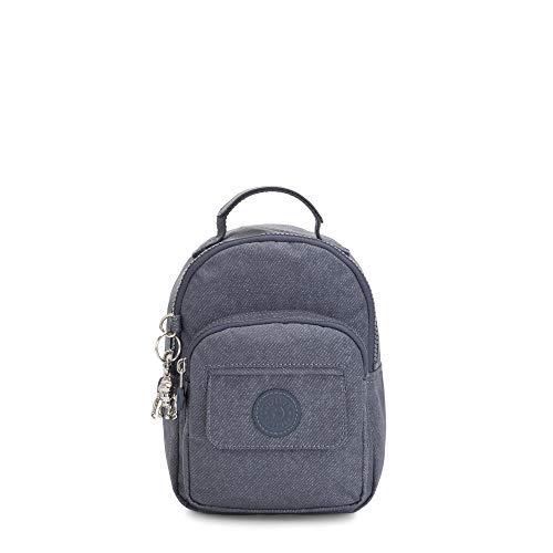 Kipling Women's Alber 3-In-1 Convertible Mini Backpack, Navy blue g twist, One Size