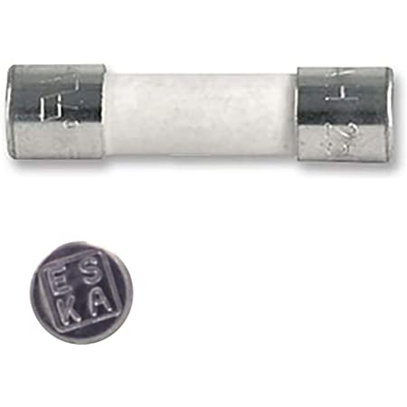 EDI-TRONIC fusibles en Verre 1,6A Rapide 6,3x32mm 250V Flink TYP611 10-Pack 10 pi/èces
