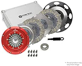 350Z Clutch M924247 Mantic Track Kit w/Mantic Aluminium Billet Cover Assembly|Twin Organic Clutch Plates|Release bearing|Billet Machined Solid Mass Flywheel(SMF) with Bolt Kit|Clutch Align Tool