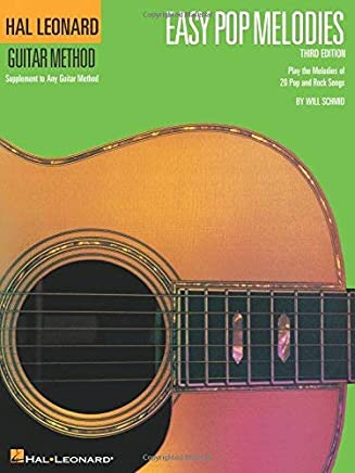 Easy Pop Melodies: Correlates with Book 1 (Hal Leonard Guitar Method (Songbooks)) by Hal Leonard Corp.(1997-03-01)
