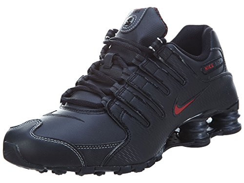 Nike Men's Shox NZ Running Shoe Black/Vrsty Red/White/Anthrct - 11 D(M) US