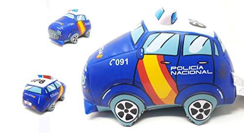 PLAYJOCS Coche Peluche Infantil Policía Nacional GT-8012