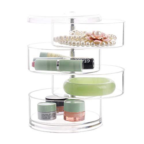 Discoball Acrylique Beauté Cosmétique 4 couches Boîte de rangement