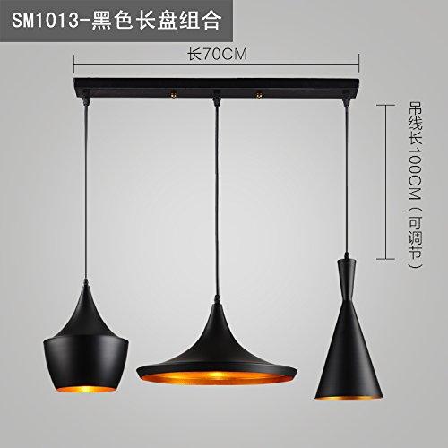 Luckyfree Kreative Moderne Mode Anhänger Leuchten Deckenleuchte Kronleuchter Schlafzimmer Wohnzimmer Küche, Schwarze Abc-Tastatur Kombination