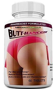 BUTTHANCER Natural Butt Enlargement & Butt Enhancement Pills Glutes Growth and Bigger Booty Enhancer Pills 60 Tablets