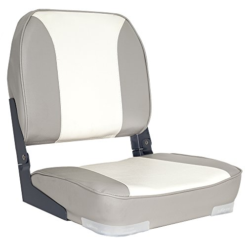 Oceansouth Deluxe Folding Boat Seat (Grey/White)