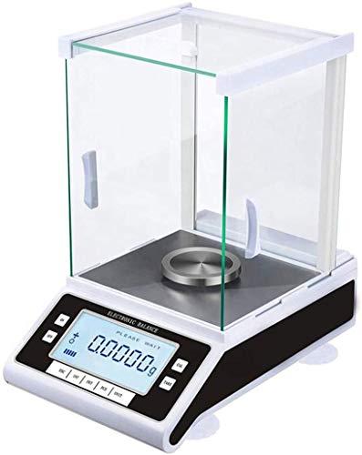 0.001g / 500g Laboratorio Balance Alta Gioielleria precisione Bilancia bilancia elettronica da cucina for laboratorio della scuola Gioielleria (Size : 100g)