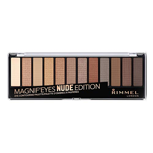 Rimmel London Magnifeyes Palette Nude Edition Paleta de Sombras Tono 1 - 14.16 gr