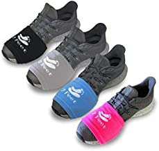 2 FEET Sock for Dancing on Smooth Floors | Over Sneakers, Smooth Pivots & Turns to Dance with Style on Wood Floors | Protect Knees (Fucsia, Light Blue, Light Grey, Black)
