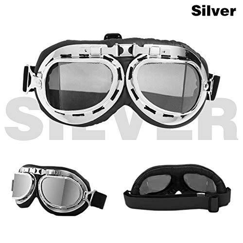 MUZIWENJU Gafas de sol for motocicleta Segunda Guerra Mundia