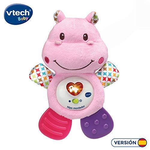 VTech Hipo Mordedor Hipopótamo de peluche musical y