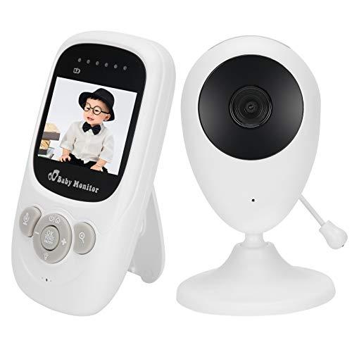Luz Nocturna incorporada del Monitor de bebé inalámbrico Digital de(European Standard (100-240v))
