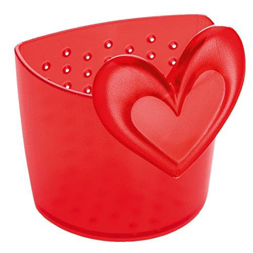 Koziol SUSI, rot Teesieb, Kunststoff, 65x67x78 cm