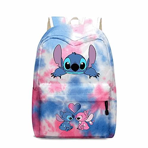 Animation Laptop Backpack Large Capacity Bag 17inch Fashion Multi-function School Bookbag