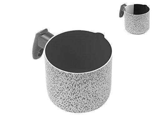 Home Salt N'Pepper Bollilatte in Alluminio, con Beccuccio Versatore, Rivestimento Antiaderente, 10 cm