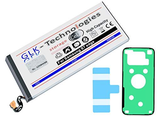 High-Capacity Ersatzakku Samsung Galaxy S7 Edge SM-G935F | Original GLK-Technologies Battery | accu | 3600 mAh | ersetzt EB-BG935ABE inkl. 2X Klebebandsätze
