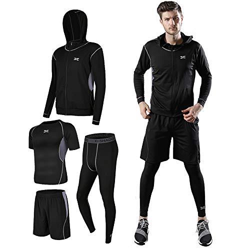 トレーニングウェア セット メンズ 吸汗速乾 スポーツ コンプレッションウェア