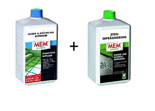 MEM alghe - & muschio-remover 1 l + Stone-fecondazione 1 l