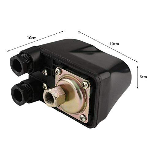 IBO / CHM Gartenpumpe Kreiselpumpe MHI2200 INOX + Druckschalter mit Manometer - Leistung: 2200W - Spannung: 230 V / 50 Hz 10800 L/h - 180l/min. Max. Druck 6 bar. Laufräder aus Edelstahl. - 8