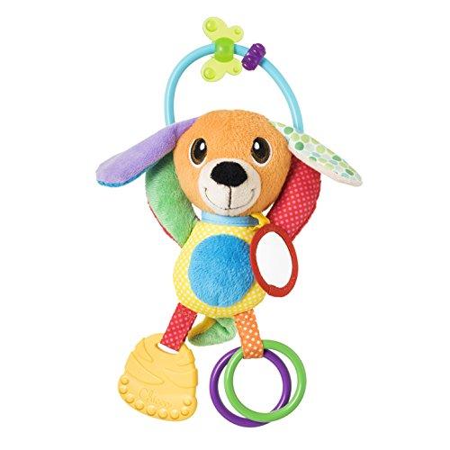 Chicco Gioco Baby Senses Mr. Puppy, Trillino per Bambini a Forma di Cagnolino con Tante Attività, 3-24 Mesi