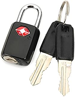 TSA Lock Travel Luggage Padlock - Ultra-Secure Key Travel Locks with Zinc Alloy Body