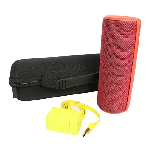 co2CREA Hard Travel Case for Ultimate Ears UE BOOM 2 Wireless Bluetooth Speaker,fits Charger and USB Cable (Case only)