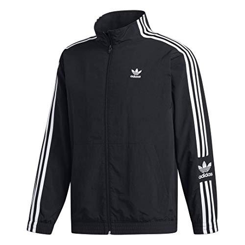adidas Originals Herren Lock Up Track Top Jacket Jacke, schwarz, Large