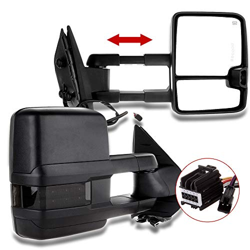 09 chevy tow mirrors - 1