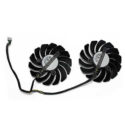 2PCS/lot PLD09210S12HH 4Pin RX580 P106-100 Mining Fan for MSI RX 470 480 570 580 Armor Graphics Video Card Cooling Fans