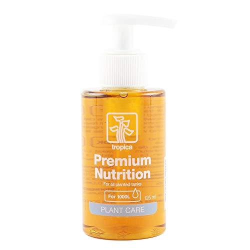 Tropica Premium Nutrition Dünger 125ml Flasche - Düngung für Aquarienpflanzen Eisen Mangan Mikronährstoffe
