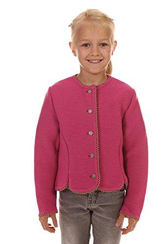 Isar-Trachten Kinder Strickjacke & Strickweste 47068 pink