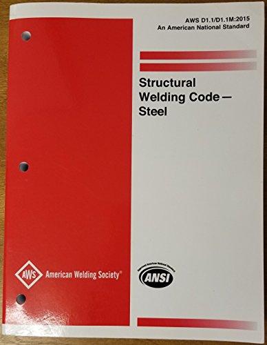 AWS D1.1/D1.1M:2015 Structural Welding Code - Steel