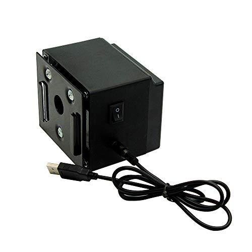 Grill drehender Motor Aluminiumlegierung Elektrogrill DC 5V USB-Rotator Motor Portable für Outdoor-Grill Werkzeug-Zubehör zu tragen